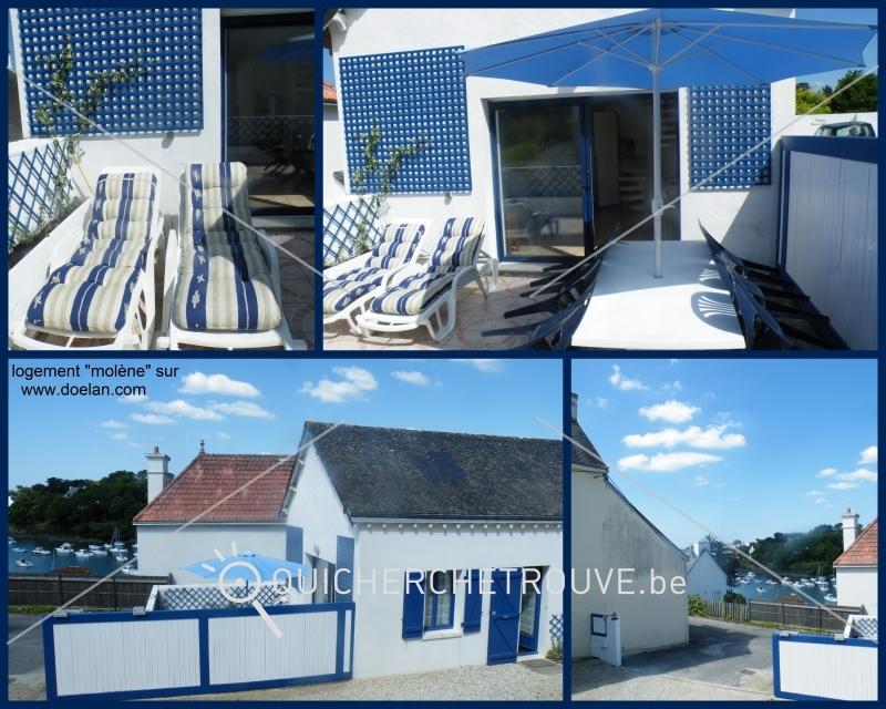 a louer bretagne sud bord mer petite maison terrasse petites annonces voyages vacances. Black Bedroom Furniture Sets. Home Design Ideas
